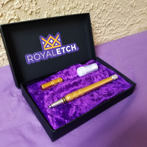 Hair Engraving Pen Razor by Royal Etch